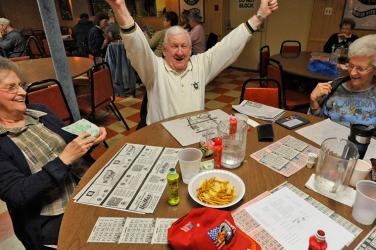 Gritar bingo