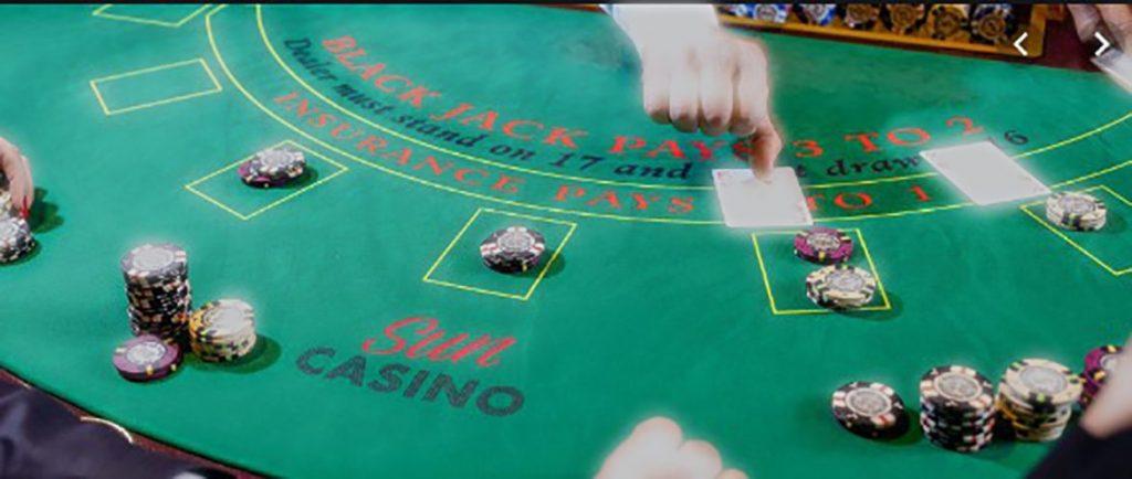 Onde tem cassinos sempre tem jogos de mesa