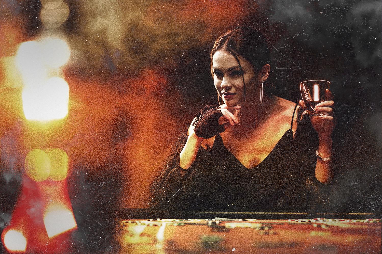 Madame Bigode mulher jogos de azar