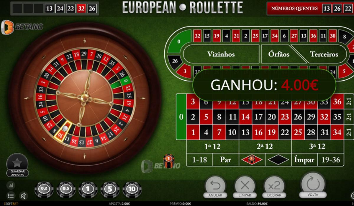 roleta de casino online